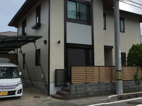 山口県下関市綾羅木本町O様邸 外壁塗装工事