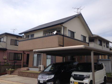 山口県山陽小野田市埴生S様邸 外壁屋根塗装工事