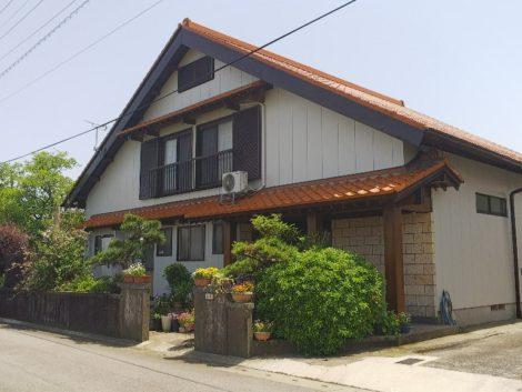 佐賀県三養基郡みやき町E様邸 外壁屋根塗装工事
