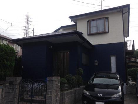 福岡県北九州市小倉南区沼緑町N様邸 外壁屋根塗装工事